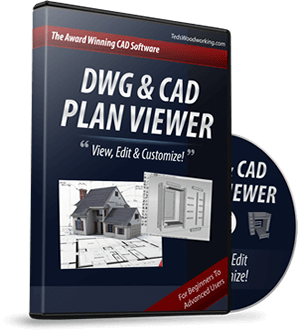 dwg cad plan view editor